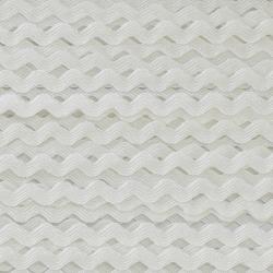 Zigzag ribbon 4mm - Ecru x 1m