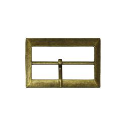 Metal belt buckle 5cm - Bronze