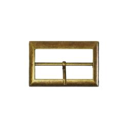 Metal belt buckle 4cm - Bronze