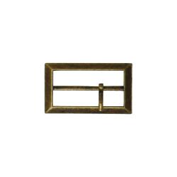 Metal belt buckle 3cm - Bronze