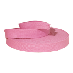 Sangle 32 mm - Rose x 0,5 m