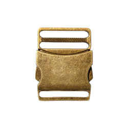 Clip buckle metal - Aged...