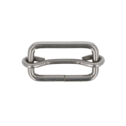 Sliding metal buckle -...