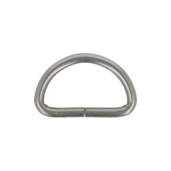 D-ring - Matte silver 32 mm