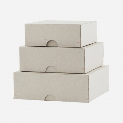 Cardboard nesting boxes