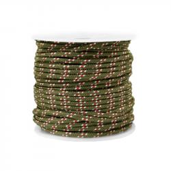 Braided cord 2 mm - Green x...