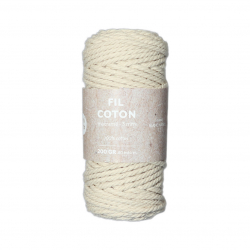 Cotton rope for macrame 3mm