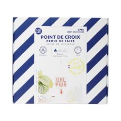 Kit point de croix - Grl pwr