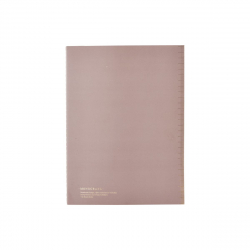 Notebook 14,8 x 21 cm 40...