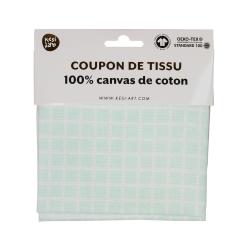 Coupon de tissu canvas de...