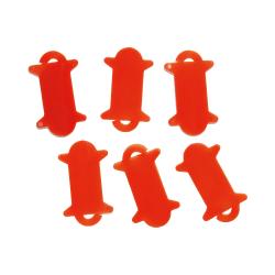 6 storage spools for yarns...