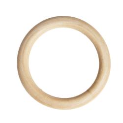 Anneau en bois naturel 8 cm