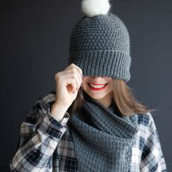 Kit tricot - Bonnet It's...