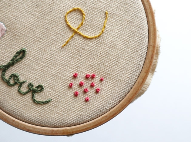The French knot (3/3)
