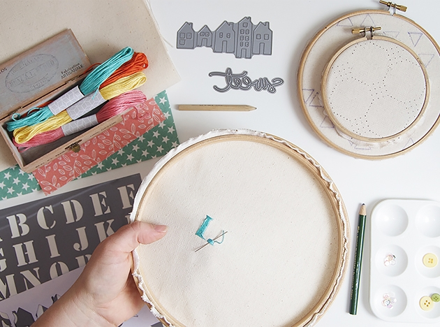 Mes conseils : commencer sa broderie