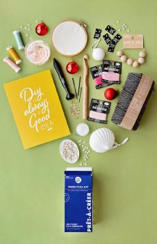 Kits Prêts-à-créer : le cadeau idéal pour les créatifs apprentis comme pratiquants !