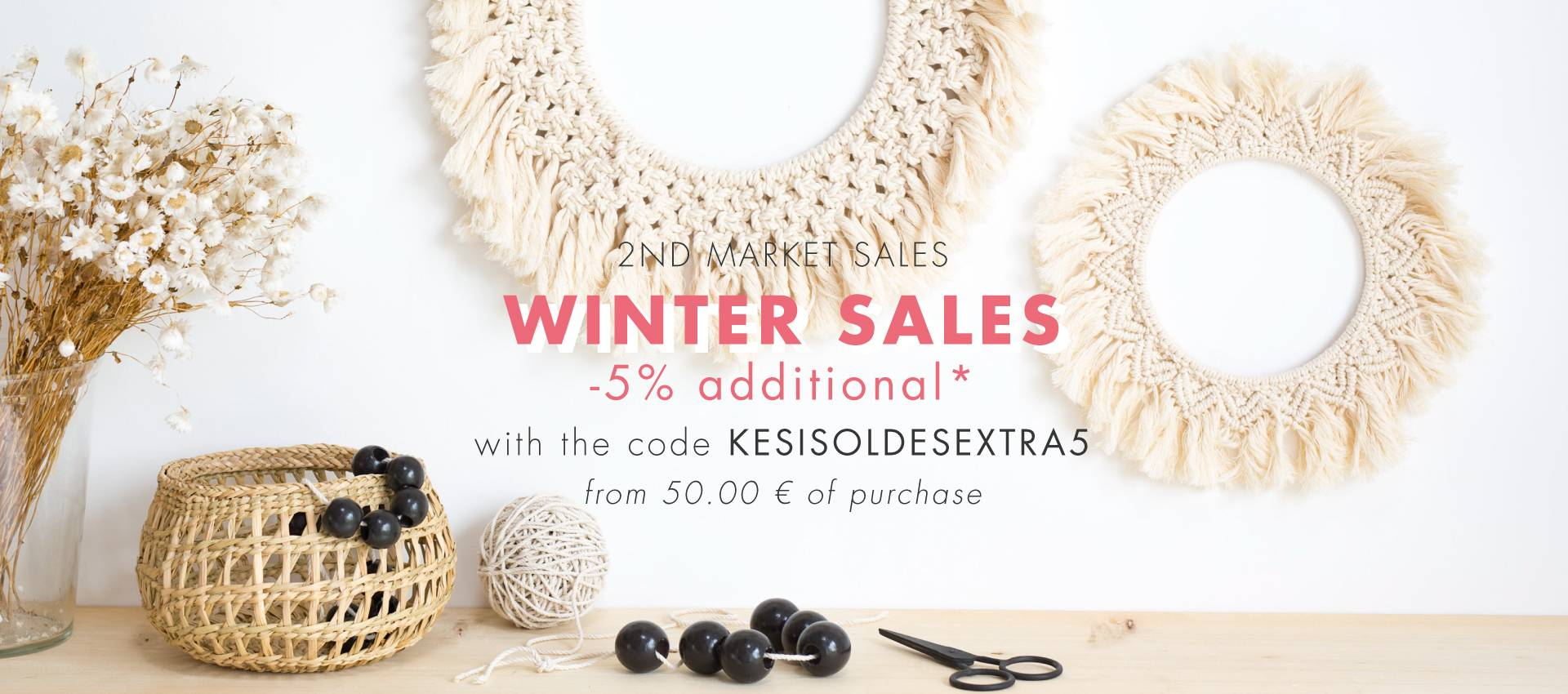 WINTER SALE, IT'S GO! UP TO 75% OFF ON A WIDE SELECTION OF ITEMS!