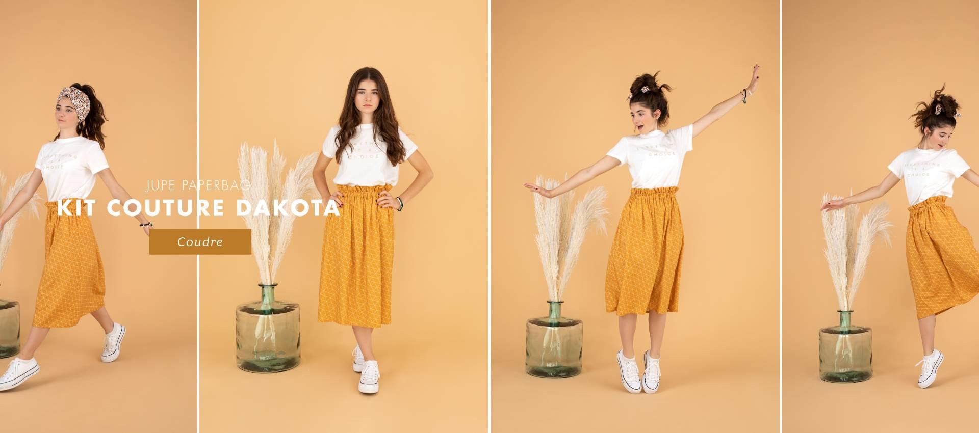 Dakota : le kit pour coudre et porter ton premier vêtement handmade !