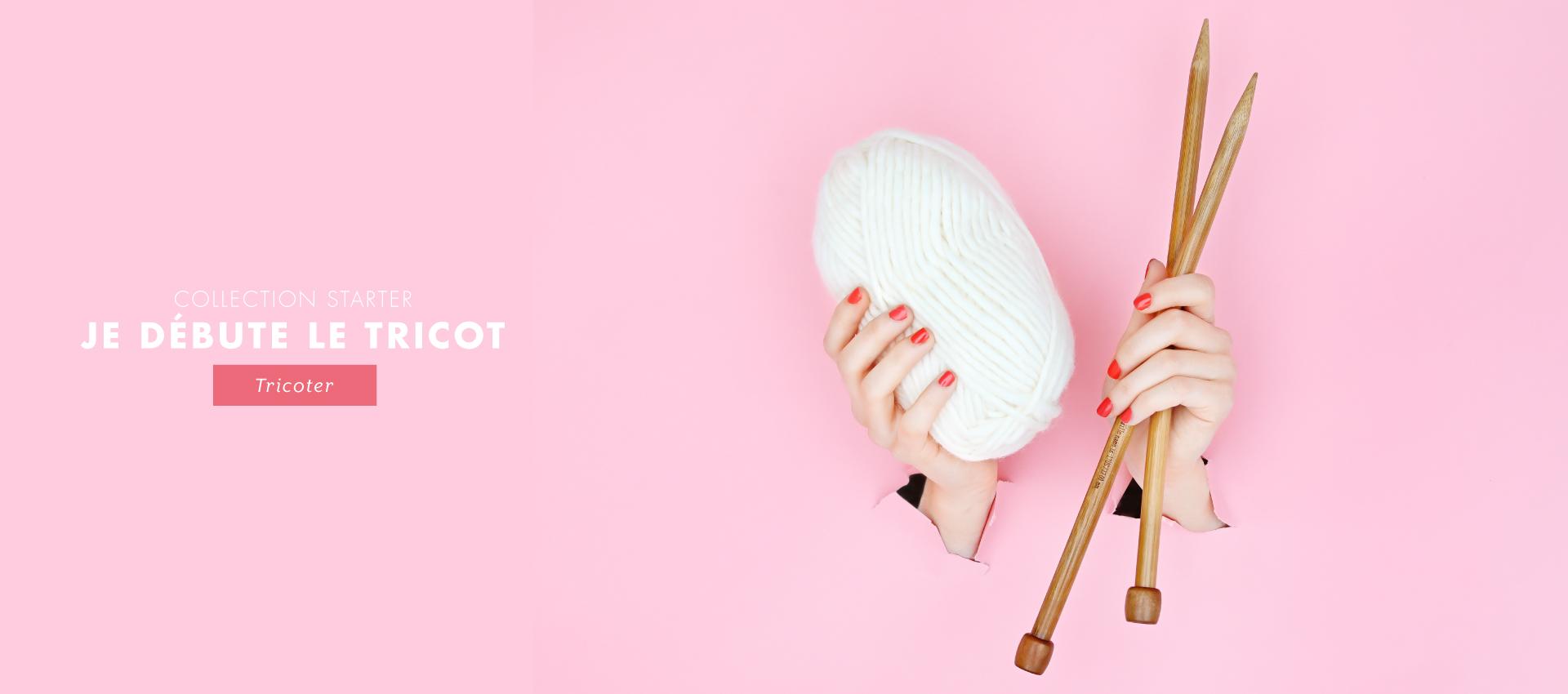 KIT TRICOT : j'apprends à tricoter un snood !