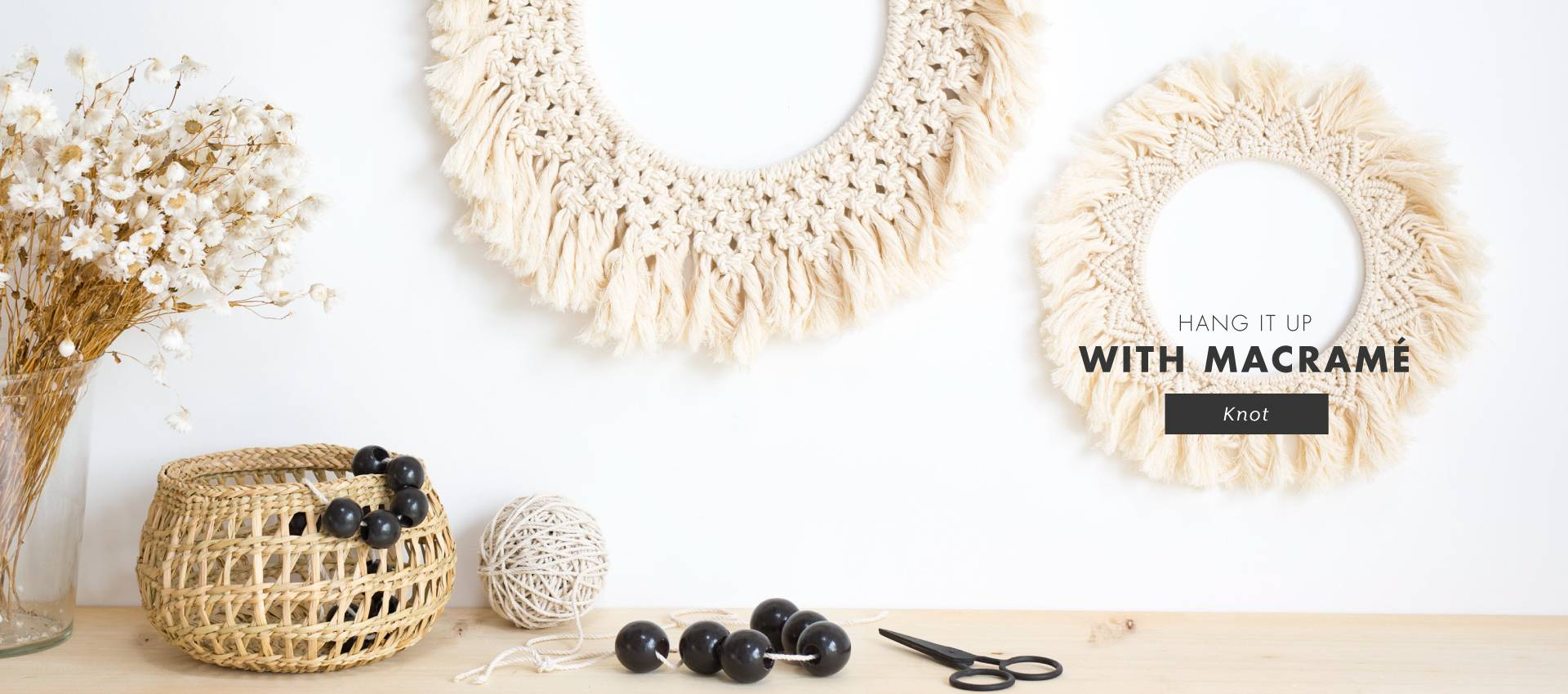 Succeed with the revival of the macrame with Kesi'Art!