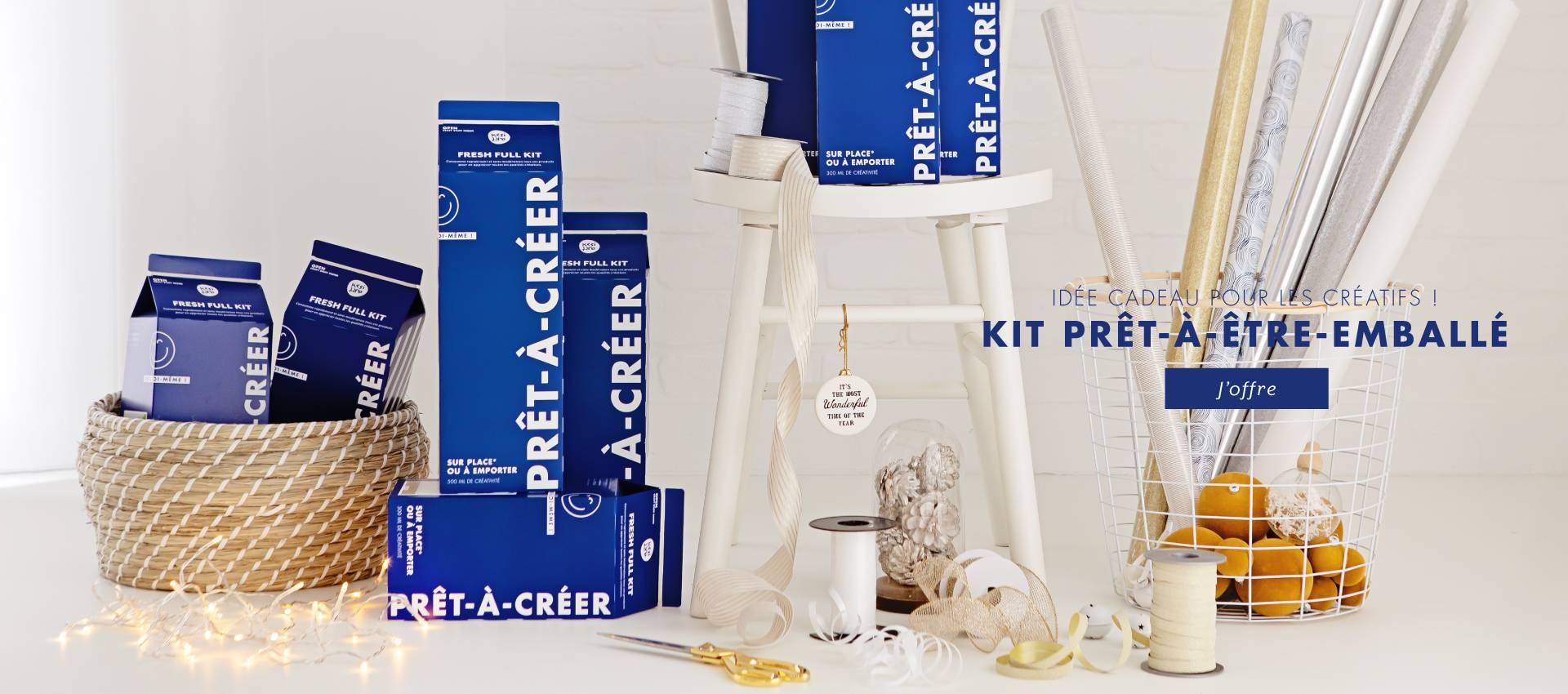 Kits prêts-à-être-emballés : la bonne idée cadeau pour tous les créatifs !