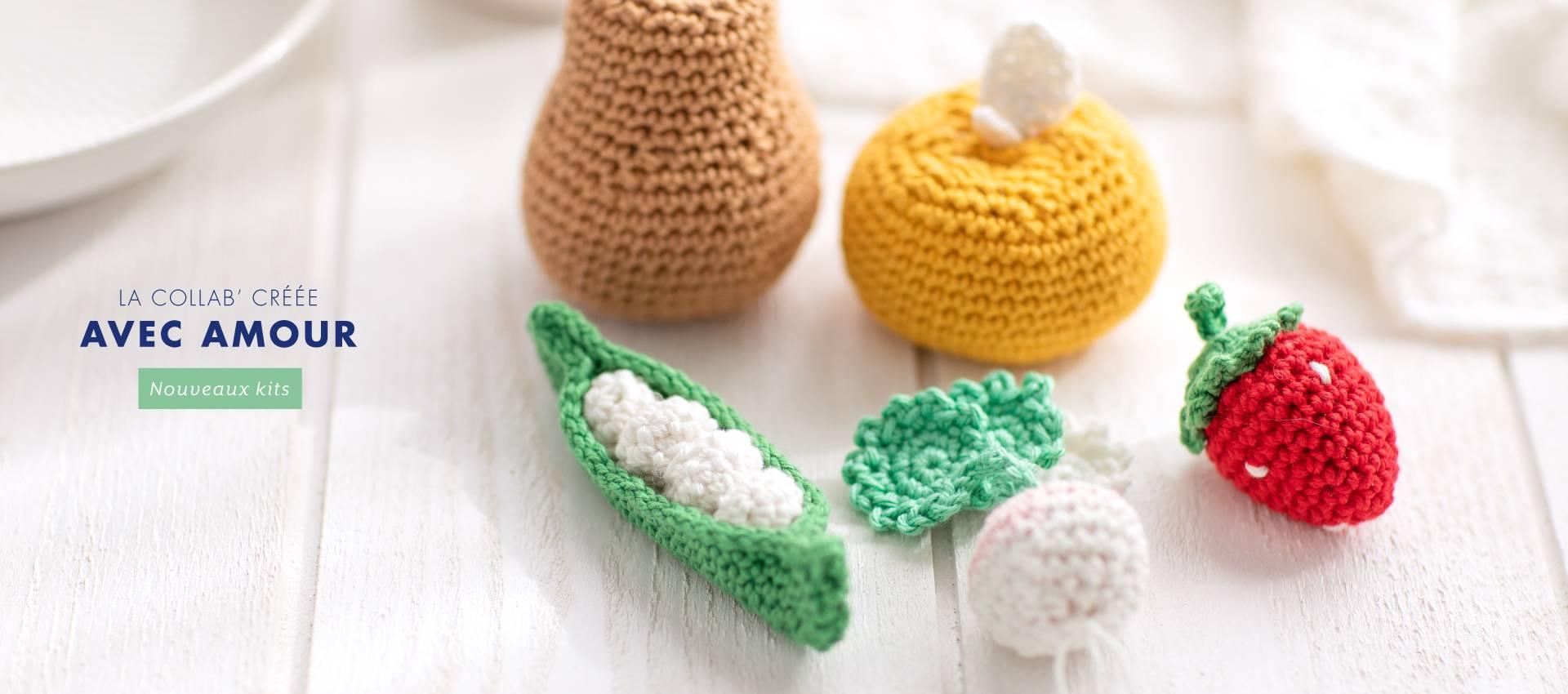 KESI'GURUMI : des kits crochet à créer avec humour et avec amour